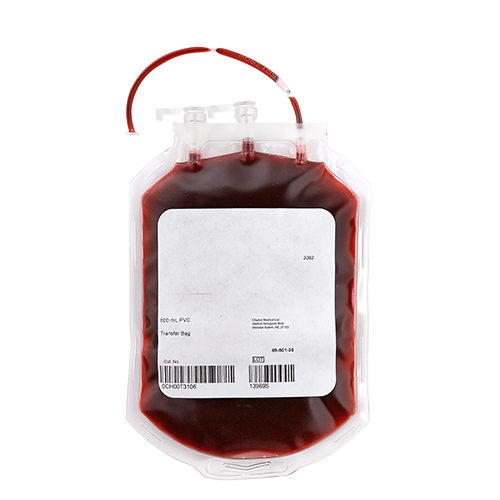 Charter Medical Blood Bags aka Blood Transfer Bags